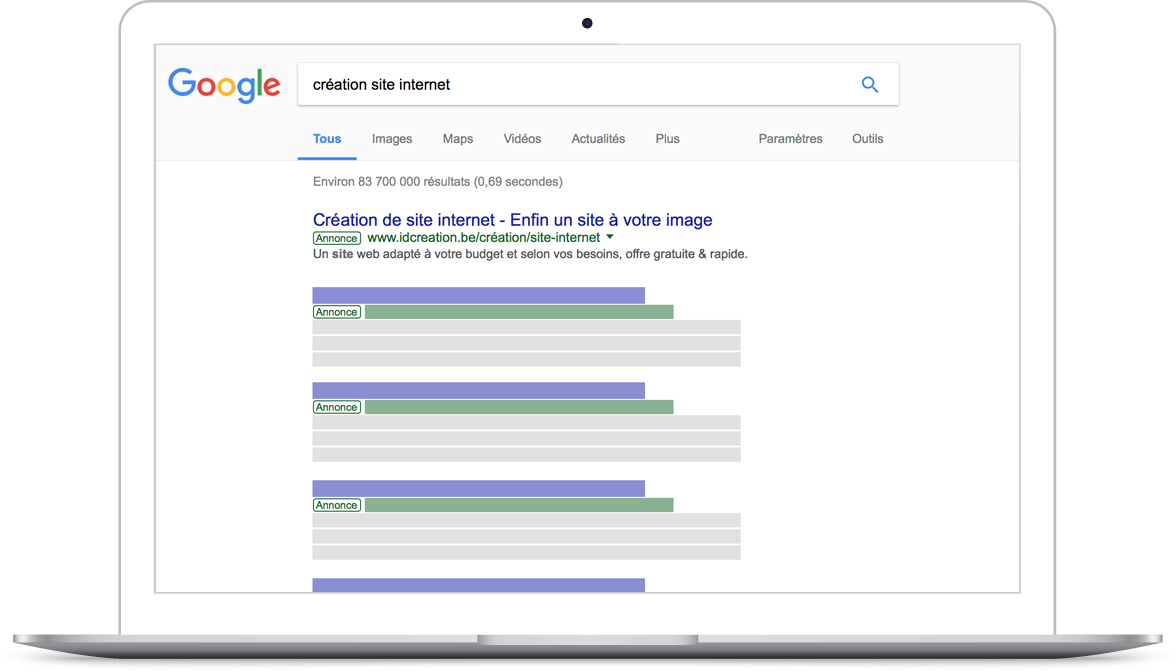Google Ads / Adwords campagne